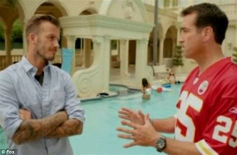 Nfl Players Cribs by David Beckham Gets A Ribbing In Cribs Spoof For Nfl Sketch