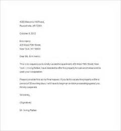 eviction letter templates 13 sle eviction notice templates free sles