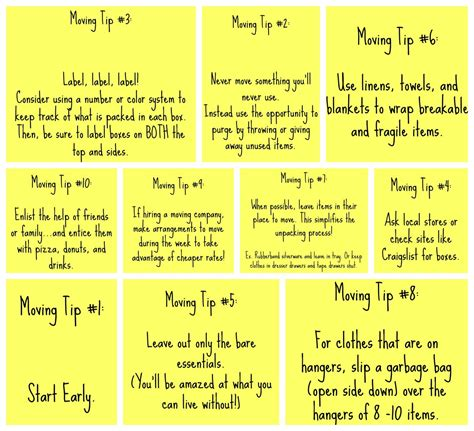 packing and moving tips i hate moving so i ll keep this for if when we ever move