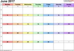 june 2017 calendar uk free calendar 2017