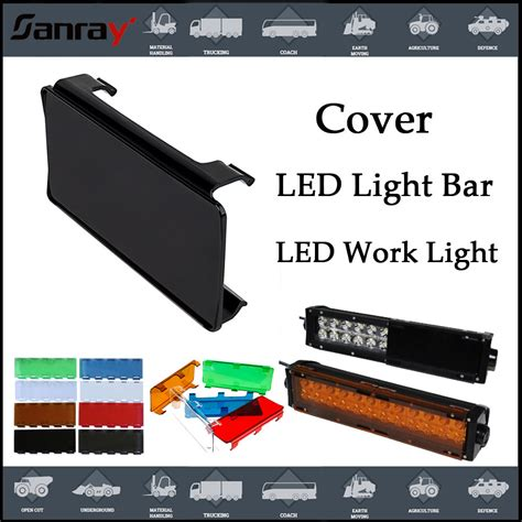 multi color led light bar multi color led light bar cover for road led light bar
