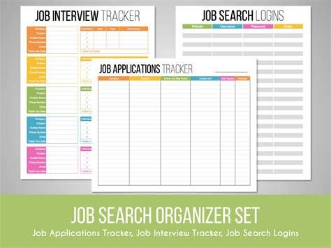 Search Dob Free Search Organizer Set Search Tracker