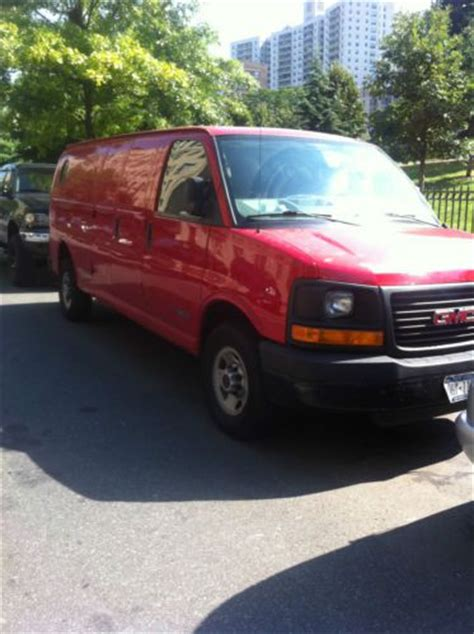 sell used 2003 gmc savana 3500 base extended cargo van 3 door 6 0l no reserve in orange sell used 2006 gmc savana 3500 base extended cargo van 3 door 4 8l in bronx new york united