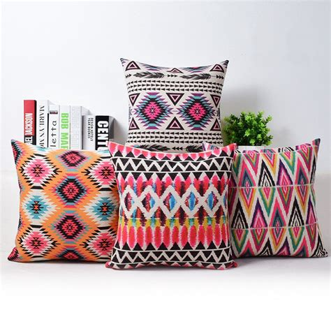 nordic design bohemian throw pillows ethnic cushions