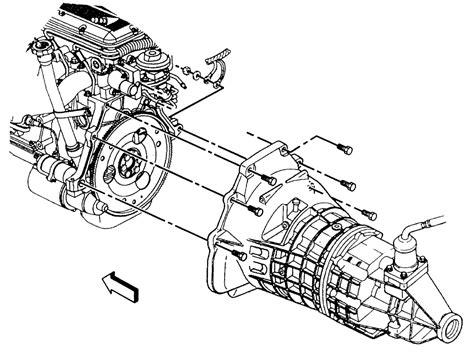 removing transmission 1996 isuzu rodeo repair guides manual transmission transmission