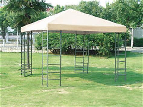 stabiler pavillon 3x3 wasserdicht stabiler pavillon rimini 3x3 meter stahlgestell dach