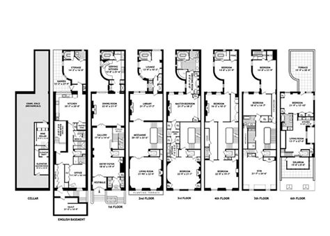victorian townhouse floor plan 102 best townhouse floor plans images on pinterest