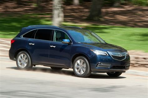 2016 acura mdx sh awd test review motor trend