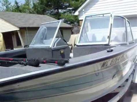 sylvan northwood boats sylvan boat 17 pro restored by rogerb 41 youtube