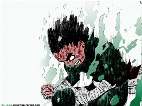 wallpaper cartoon rock wallpaper rock lee wallpaper