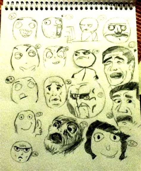 Fuuu Meme - fuuu meme and related faces 2 by xcrystal nekox on deviantart