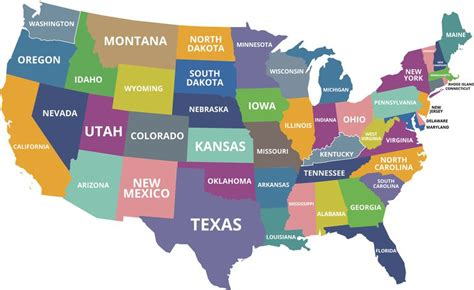 states in america what are the smallest states in the u s