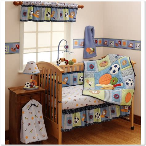 Sports Crib Bedding Sets by Baby Crib Bedding Sets Sports Beds Home Design Ideas
