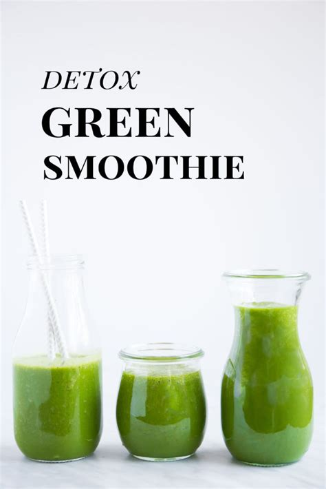 All Green Detox Smoothie by Detox Green Smoothie Sprouted Routes