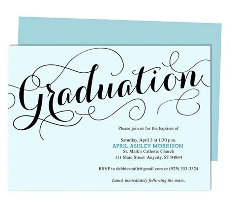 templates for graduation announcements carolyna graduation announcement template printable diy