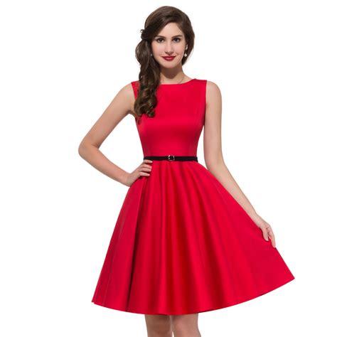 1950s hepburn dresses 2016 retro swing pin up