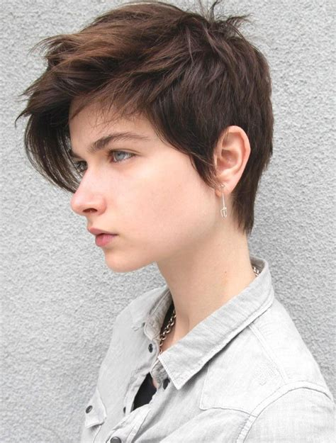 is short hair right for a person with a double chin androgynous haircuts short hairstyle 2013