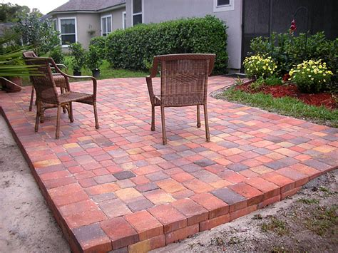 brick paver patio design brick paver patios enhance pavers brick paver