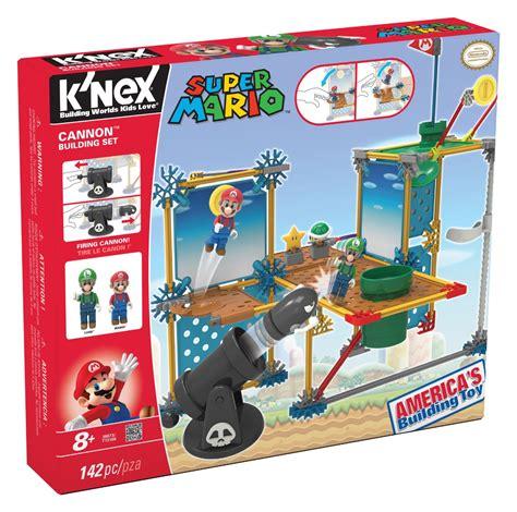k nex mario k nex nintendo mario 3d land cannon building set