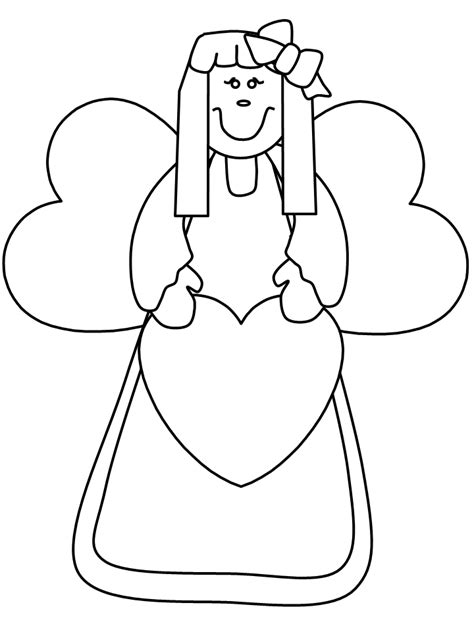 coloring book angels pages printable angels coloring home