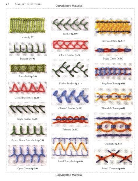 pattern types list stitch sler lucinda ganderton 9780756619008 amazon