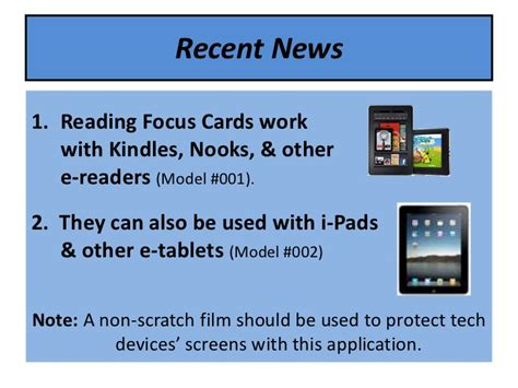 reading focus card template reading focus card slideshow 2012