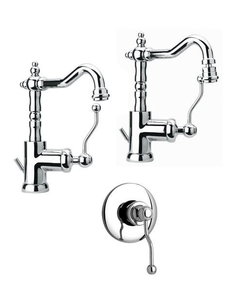 set rubinetti bagno set miscelatori bagno lavabo classico