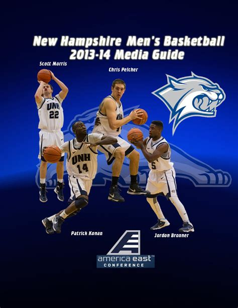 Mba Basketball Manchester Nh by S Basketball 2013 14 Media Guide By Of New