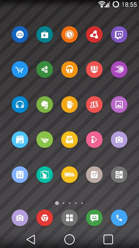 icon pack android best android icon packs includes free icon pack downloads recomhub