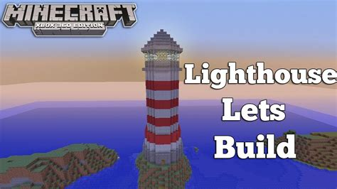 lighthouse home floor plans minecraft xbox 360 lighthouse lets build youtube