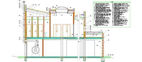 claraboya transitable bloques autocad gratis secciones de fachada