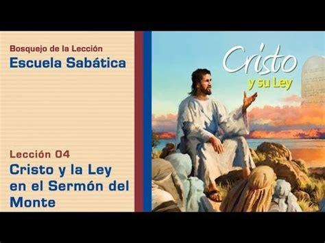notas de elena lecci n 10 llorad y aullad escuela sab tica sermon del monte la ley del talion 4 cristo y la ley en el