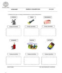 Forms of energy types worksheet in addition worksheet reading for