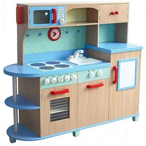 Kitchen Set 375 all in one play kitchen deluxe wooden kitchen set educational toys planet