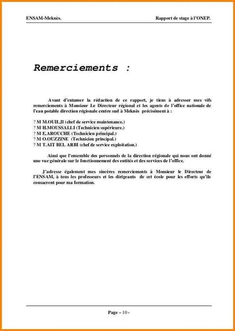 Présentation Lettre De Remerciement 12 Lettre De Remerciement De Stage Modele Lettre