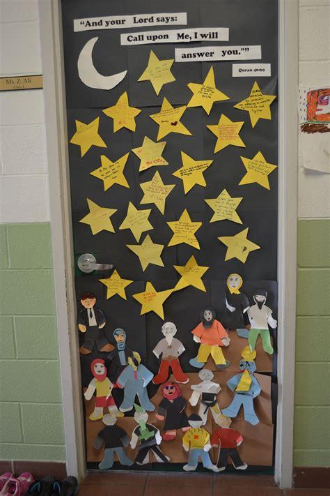 prayers  eid ogs classroom eid door decoration