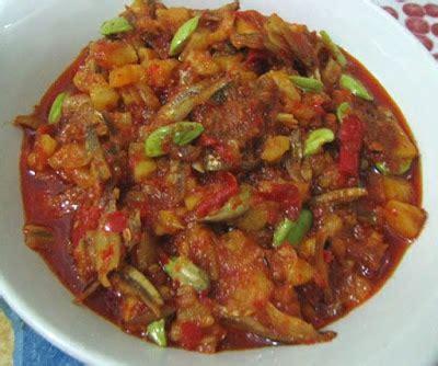 membuat sambal lado tanak resep masakan indonesia