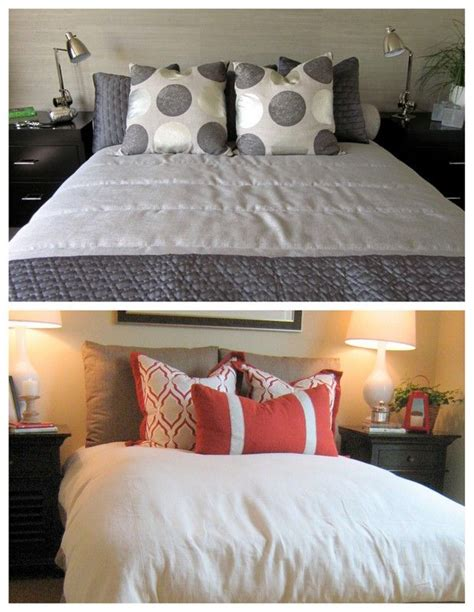 how to arrange pillows on a bed 7 ways to arrange bed pillows what s up home and unique