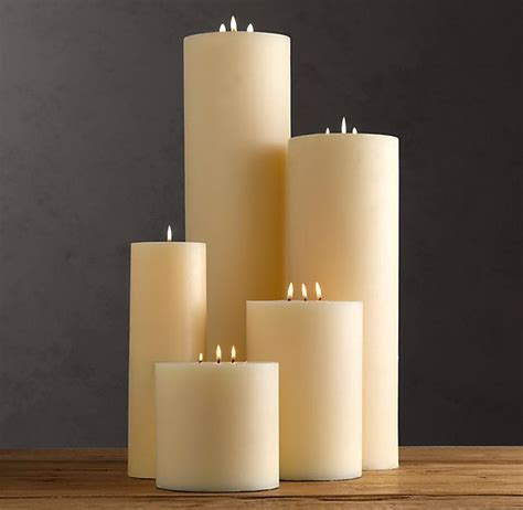 large ivory pillar candles for fireplace could be for den too apartment pinterest