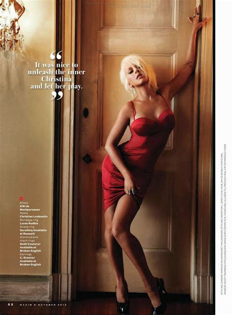 Aguilera Smokin On Maxim by Aguilera Maxim Oct 2013 Magazine Photoshoot