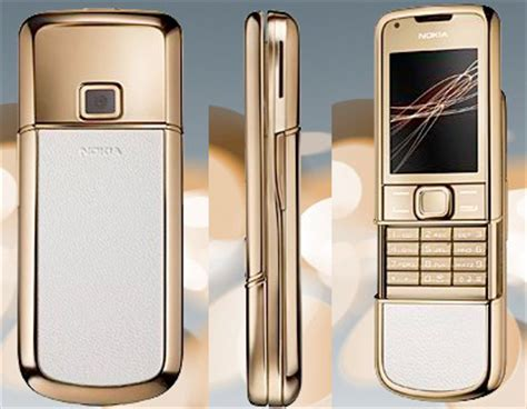 gold themes for phone nokia gives the midus touch to the arte 8800 phone