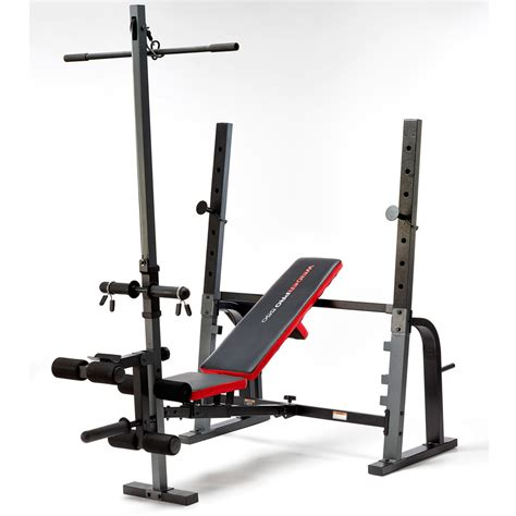 weight bench with lat bar weider pro 550 weight bench 145kg olympic weights set ebay