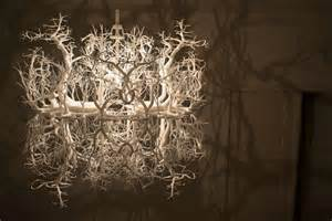 forest shadow chandelier price quot forms in nature quot chandelier by hildendiaz at 1stdibs