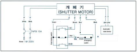 roller shutter motor wiring diagram 35 wiring diagram