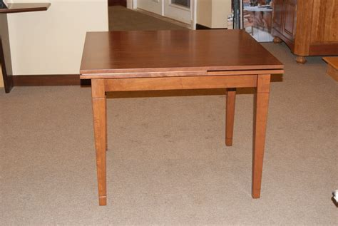 pull out table handmade pull out table by m s moeller cabinetry
