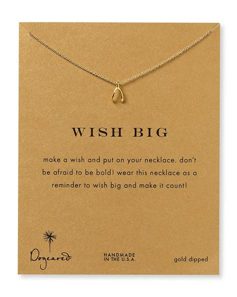 dogeared wish big necklace 18 quot bloomingdale s