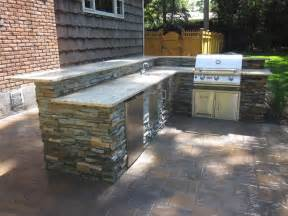 Outdoor Kitchen Countertop Ideas by Stone Veneers On Pinterest Stone Veneer Granite