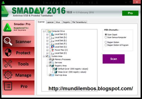 Anti Virus Terbaru smadav antivirus terbaru 2017 rev 10 9 mundi lembos