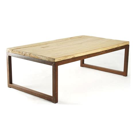 Rustic Wood Coffee Tables by Modern Rustic Reclaimed Elm Wood Rectangle Coffee Table