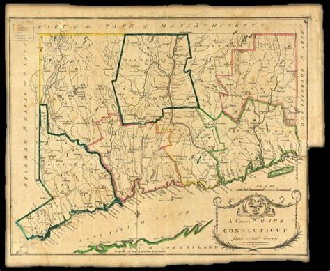 early maps early map of connecticut